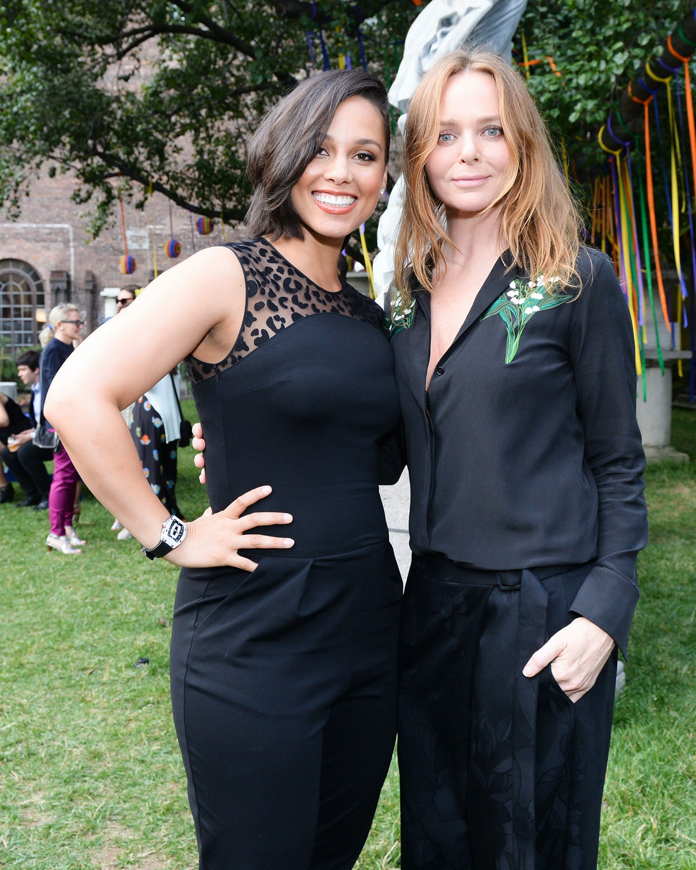 Alicia Keys and Stella McCartney