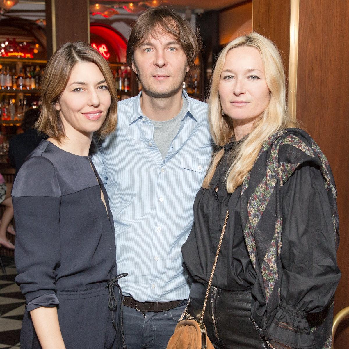Sofia Coppola, Thomas Mars, and Julie de Libran