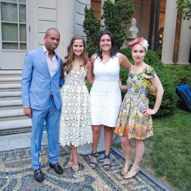 Lacary Sharpe, Sarah Flint, Kate Horvitz, and Christina Eberli