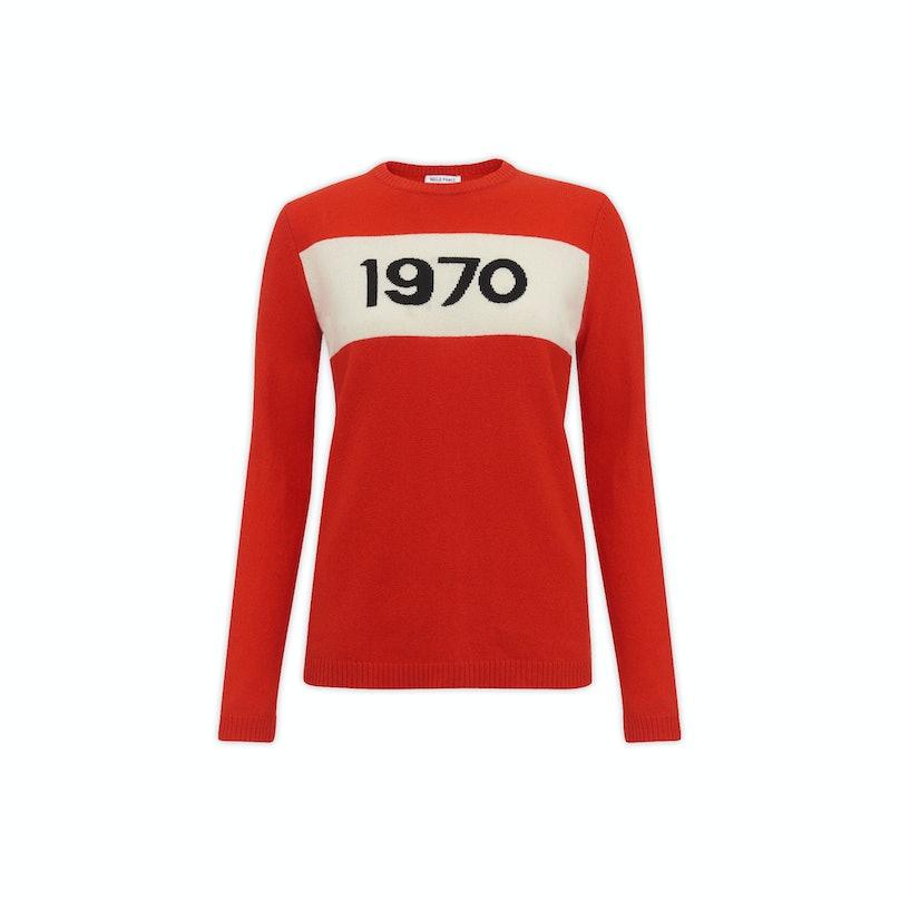 Bella Freud 1970 merino wool sweater