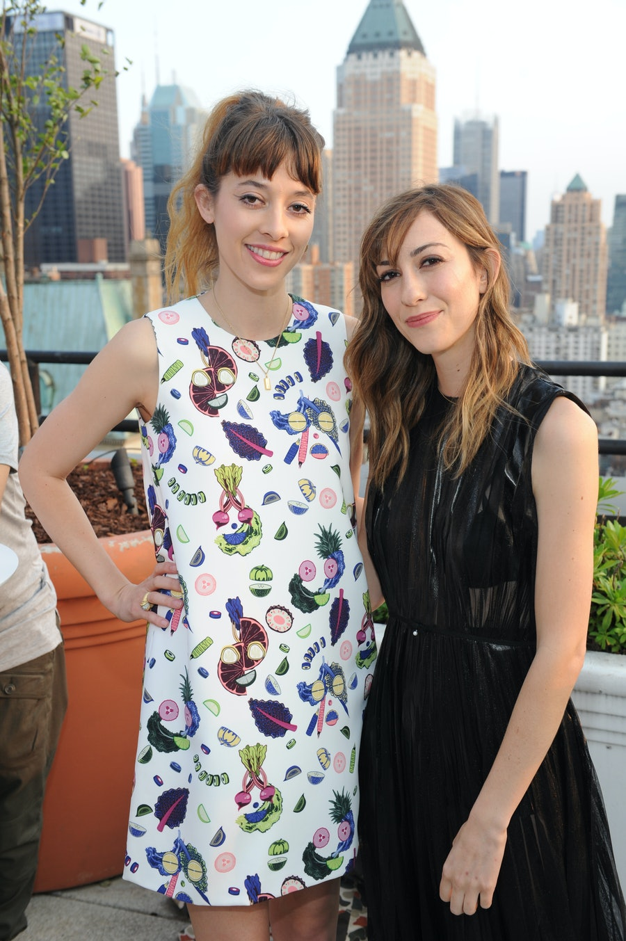Tracy Antonopoulos and Gia Coppola