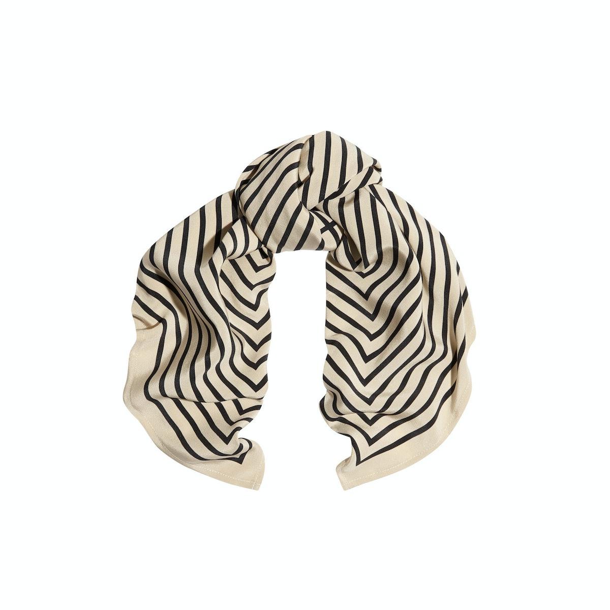 Toteme striped scarf