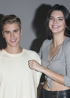 Justin Bieber and Kendall Jenner