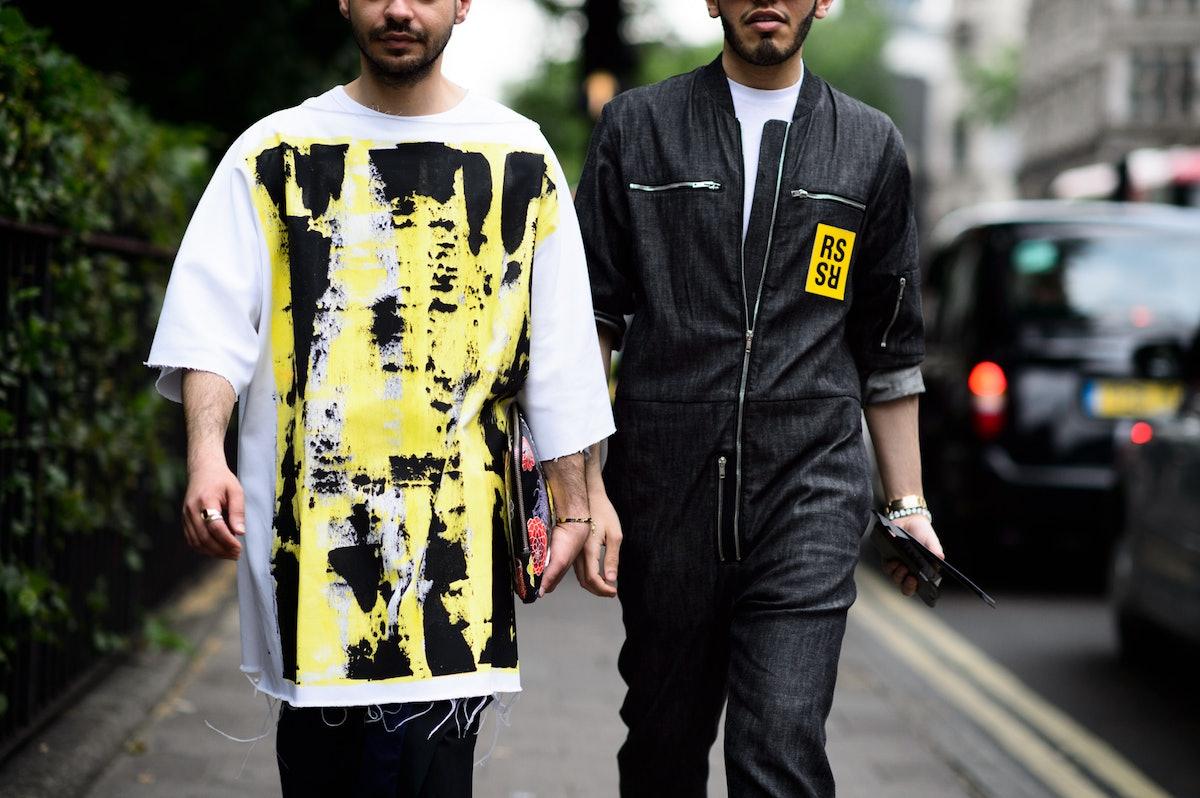 London Men's Fashion Week Spring 2016 Day 1
