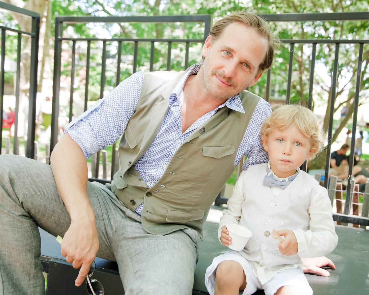 Josh Lucas and his son Noah