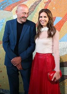 Rem Koolhaas and Dasha Zhukova