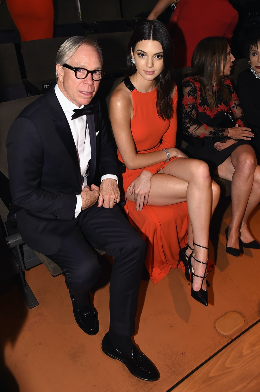 Tommy Hilfiger and Kendall Jenne
