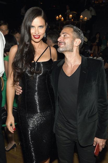 Adriana Lima and Marc Jacobs