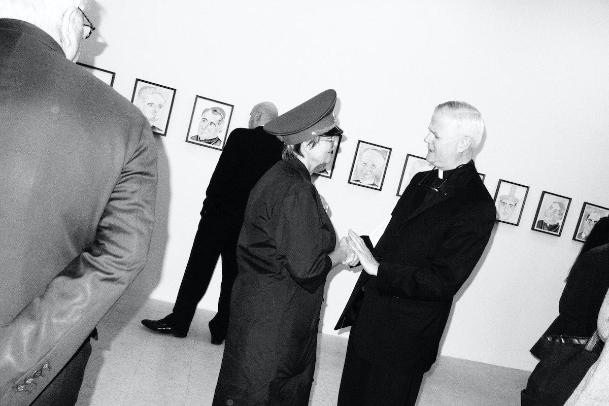 Gloria and Father Gerald Murray