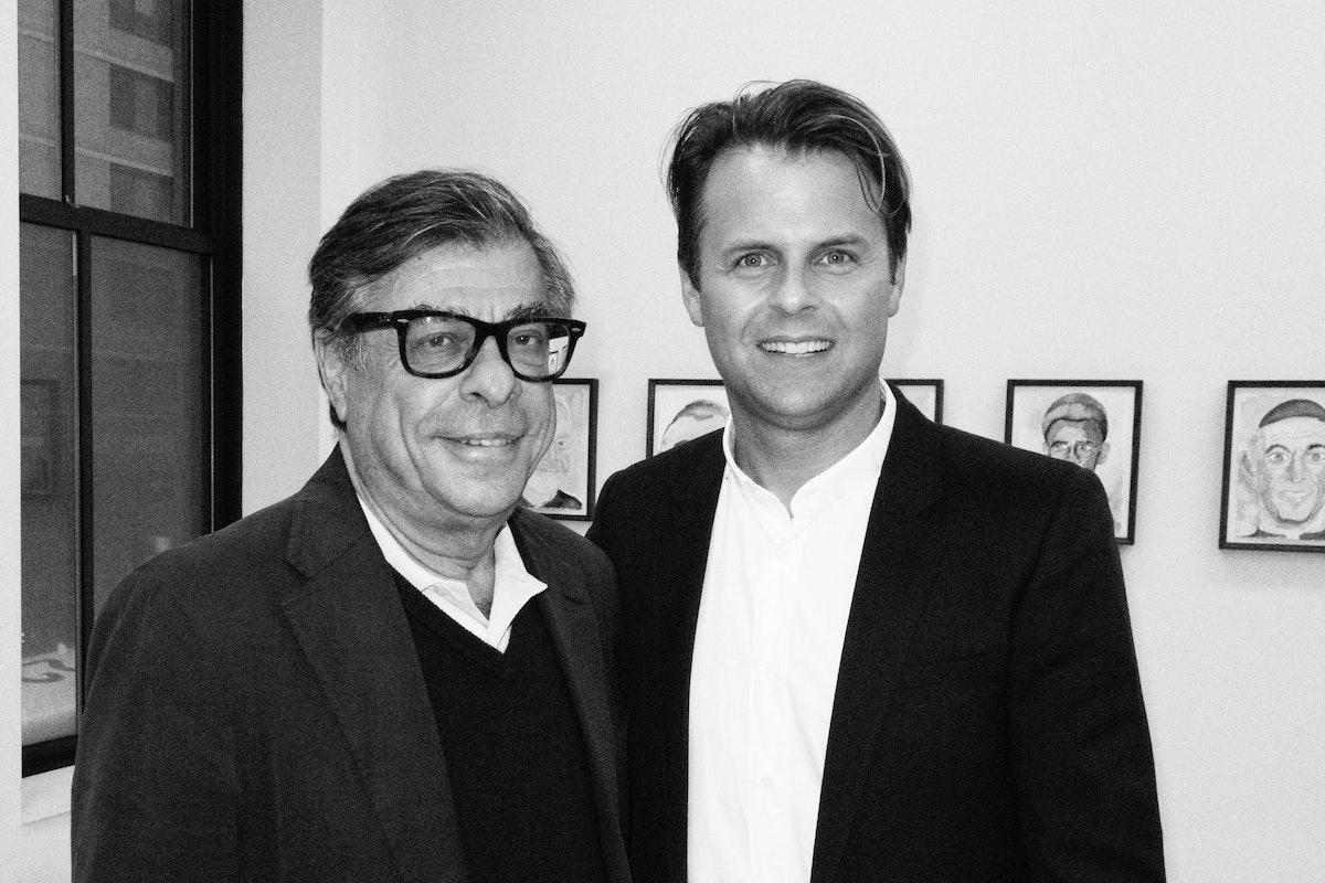 Bob Colacello and Adam Lippes