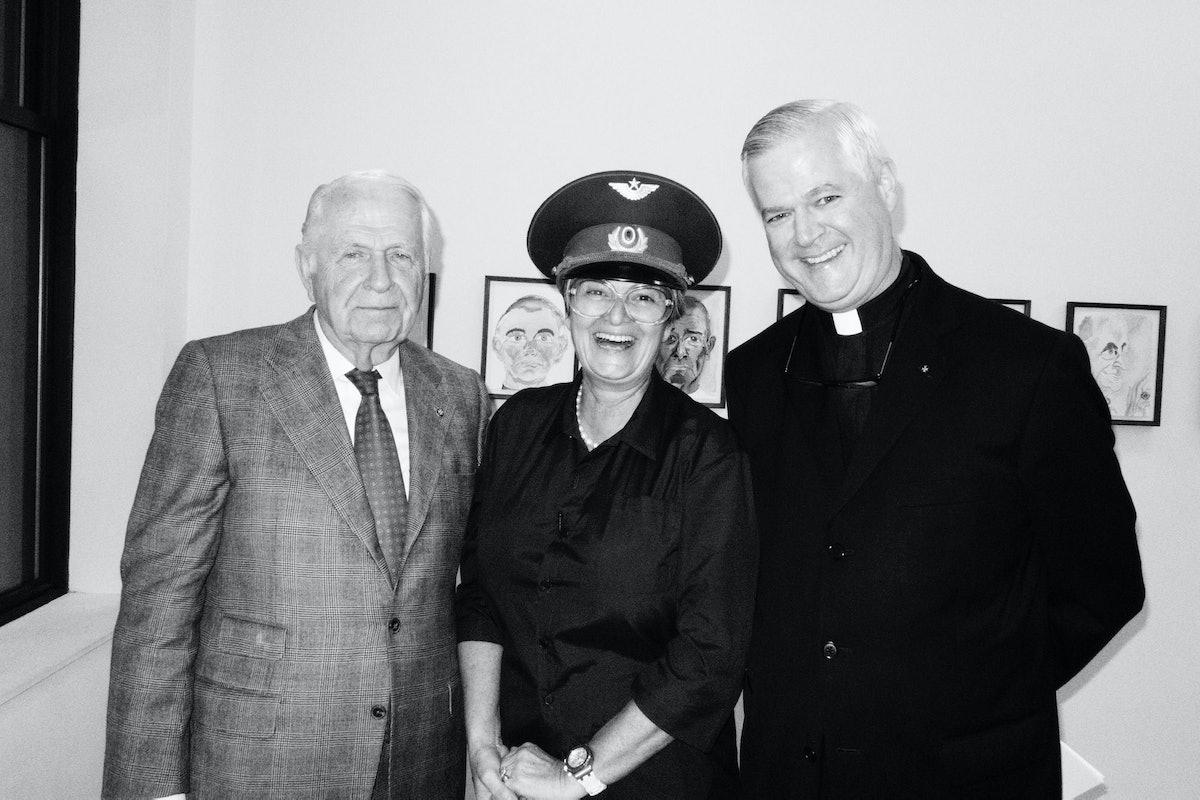 Ambassador Robert Shafer, Gloria and Father Gerald Murray