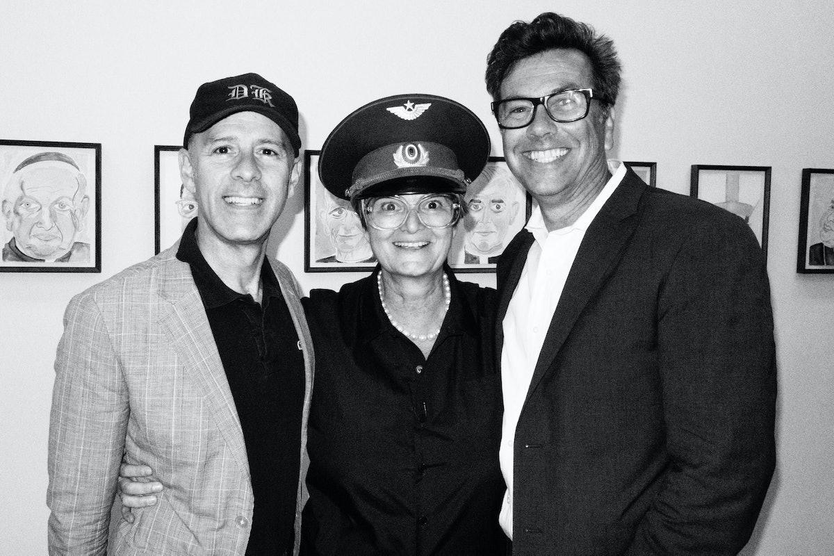 David Kuhn, Gloria and Kevin Thompson