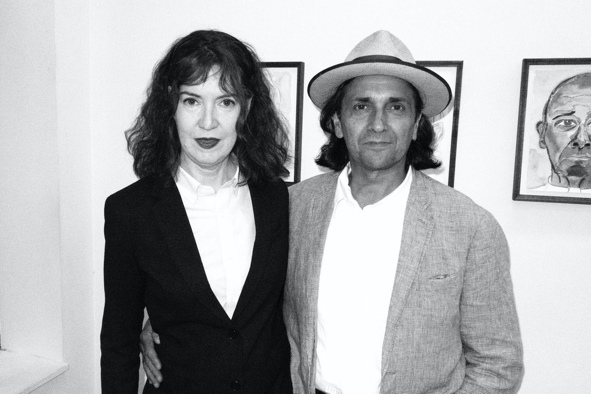 Ena Swansea (whom Gloria shares a studio with) and Antoine Guerrero