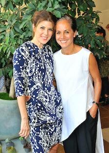 Marisa Tomei and Maria Cornejo