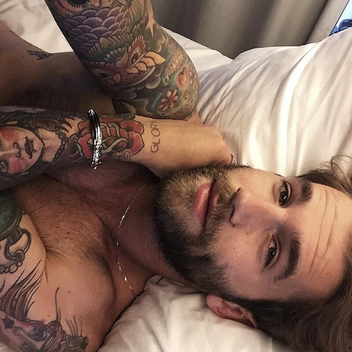 Guy selfie hot Guys, Follow
