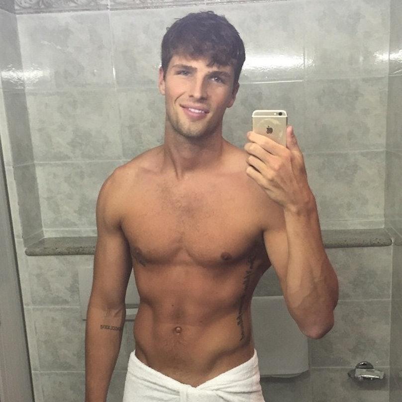Male model selfie