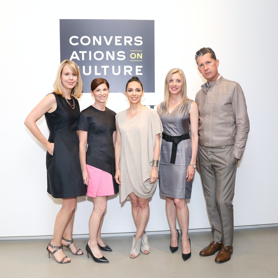 Lucy Kriz, Diane Solway, Teresita Fernandez, Stefano Tonchi, and Holly Baxter