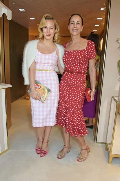 Charlotte Olympia and Andrea Dellal