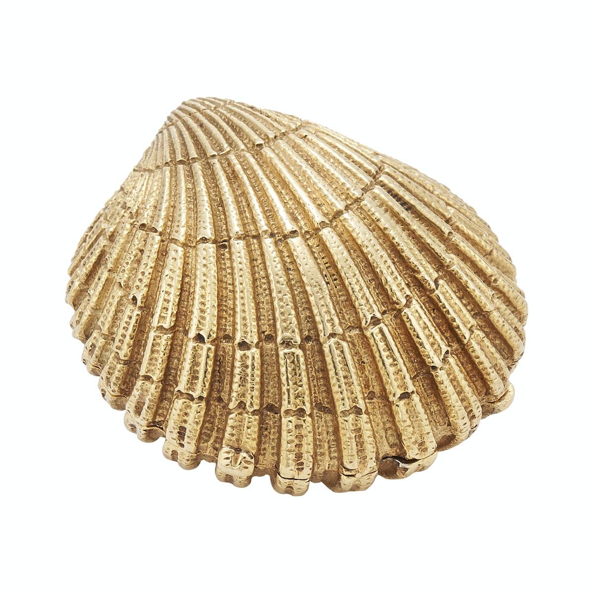 Tiffany & Co. shell pill box