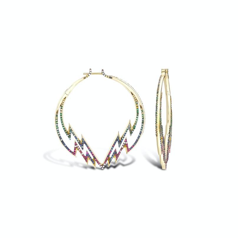VENYX Electra Hoope earrings