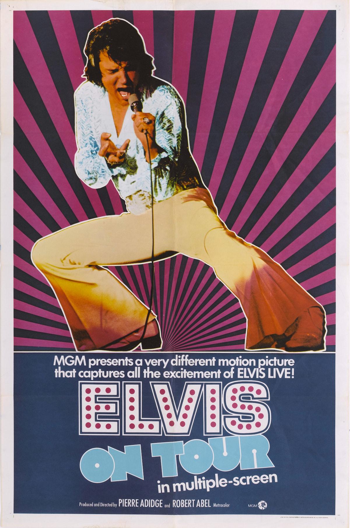Elvis Presley, 1972.