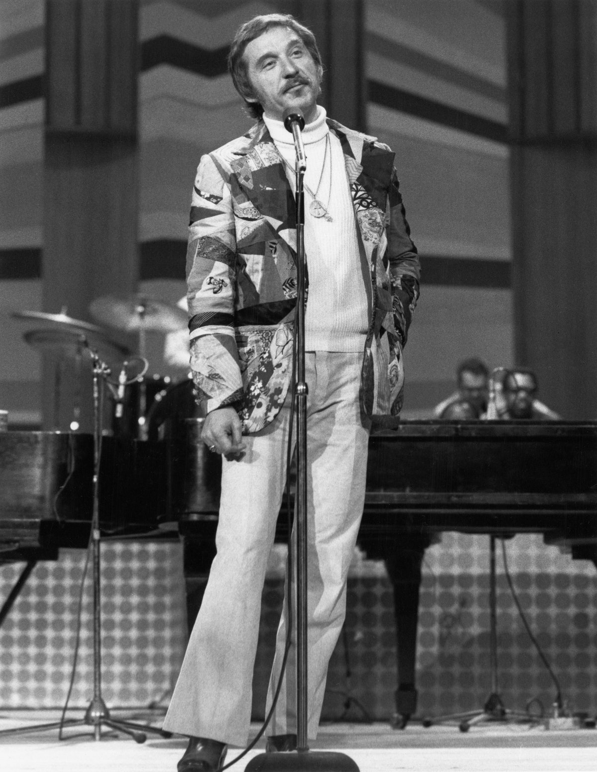 The Tonight Show host, Johnny Carson, circa 1970.