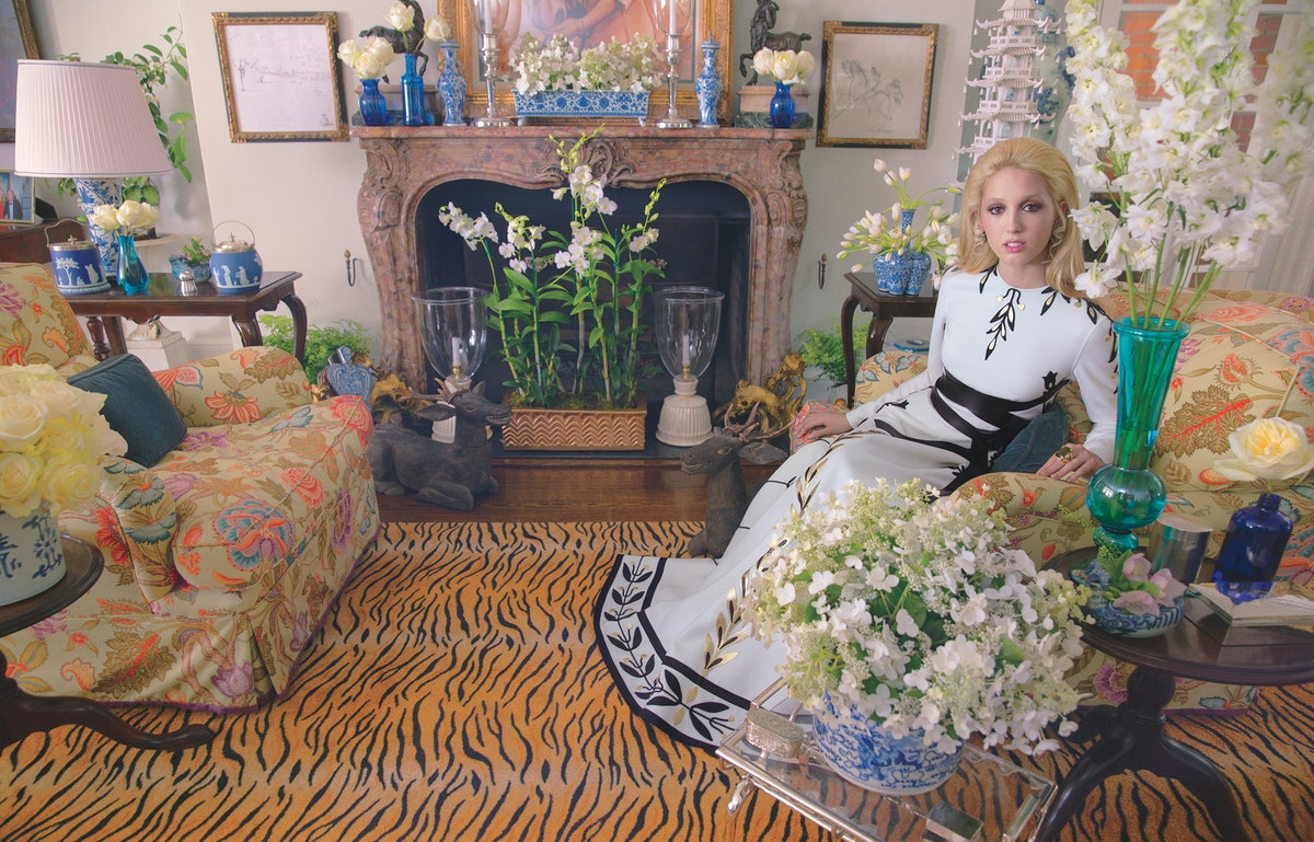 Princess Olympia of Greece in Wmag