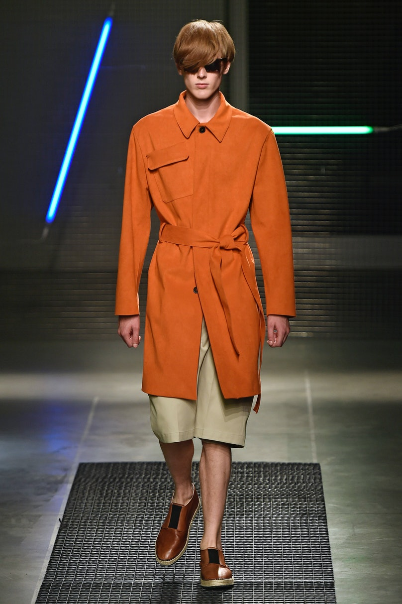 MSGM - Mens Spring 2016 Runway - Milan Menswear Fashion Week
