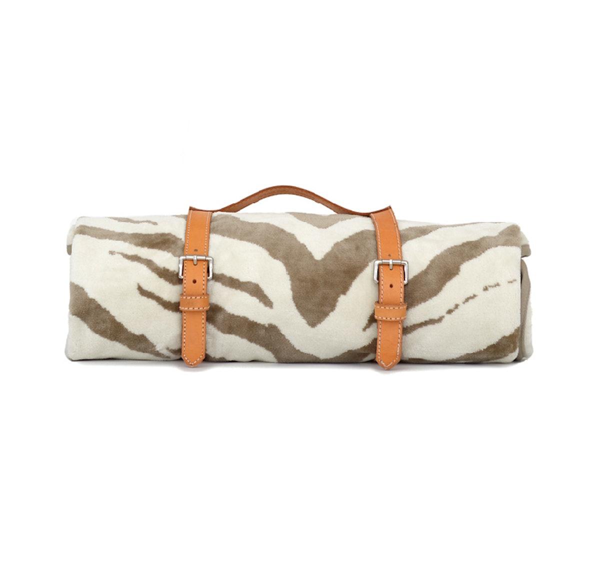 Natural Tiger Hide Beach Towel
