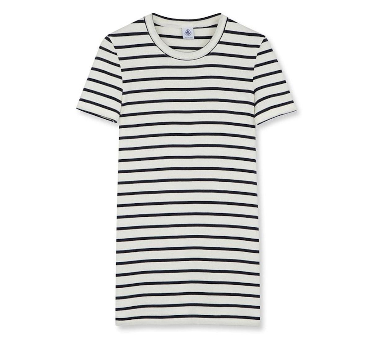 Petit Bateau Women's Iconic Cotton Striped T-Shirt