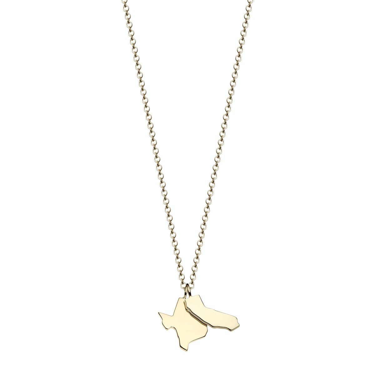 Minor Obsessions 10K yellow gold necklace