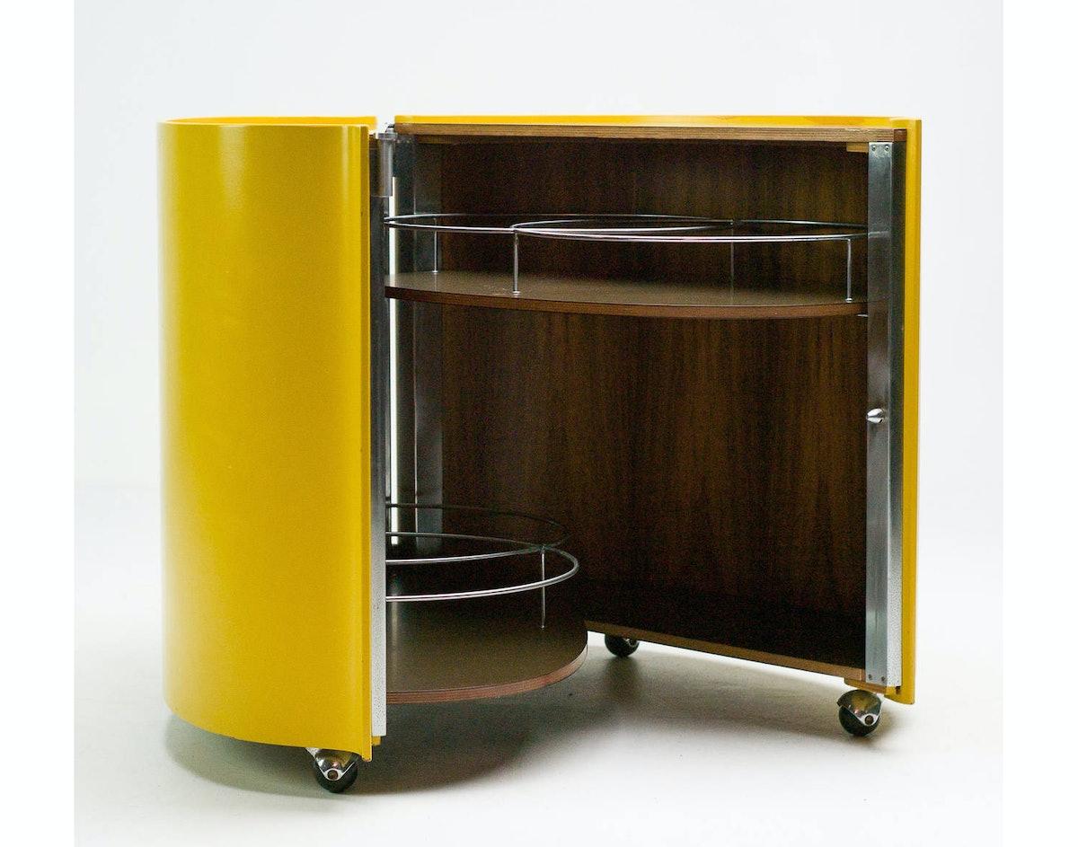 Bar Model B106 by Eugenio Gerli for Tecno