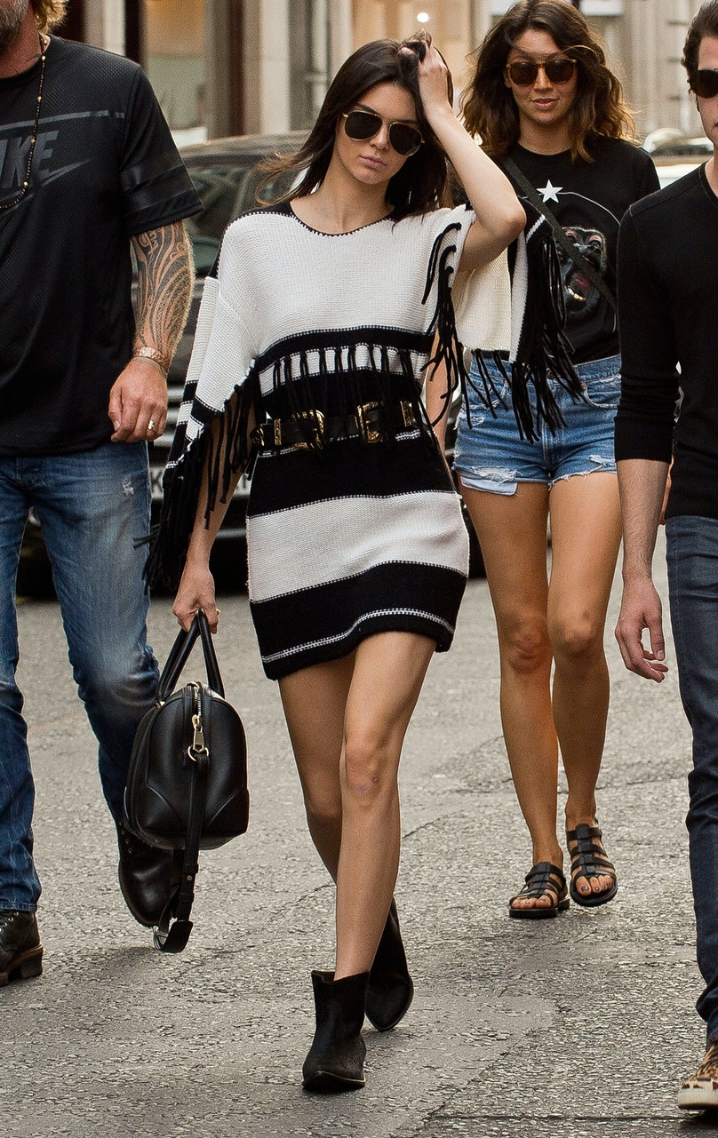 Kendall Jenner in Isabel Marant