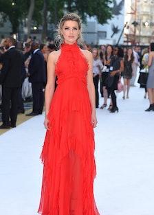 Amber Heard in Emilio Pucci