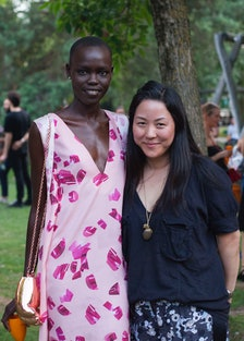 Carol Lim and Grace Bol