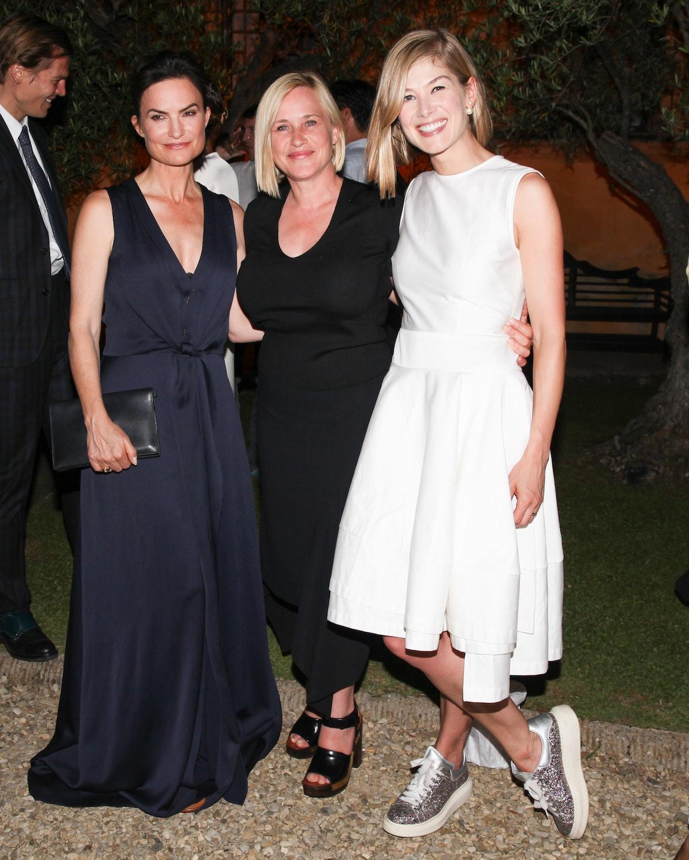 Rosetta Getty, Patricia Arquette, and Rosamund Pike