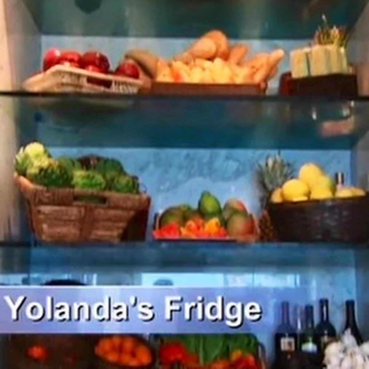 Yolanda Foster Fridge