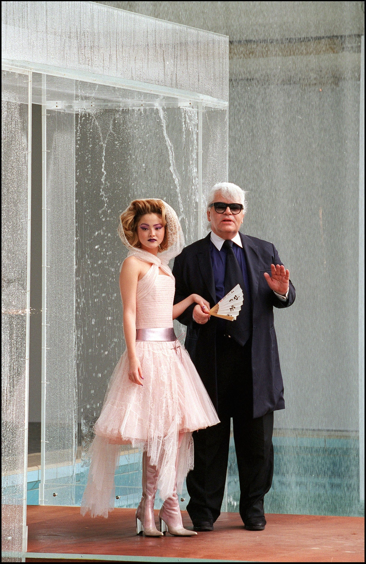 Karl Lagerfeld Chanel Couture Bride