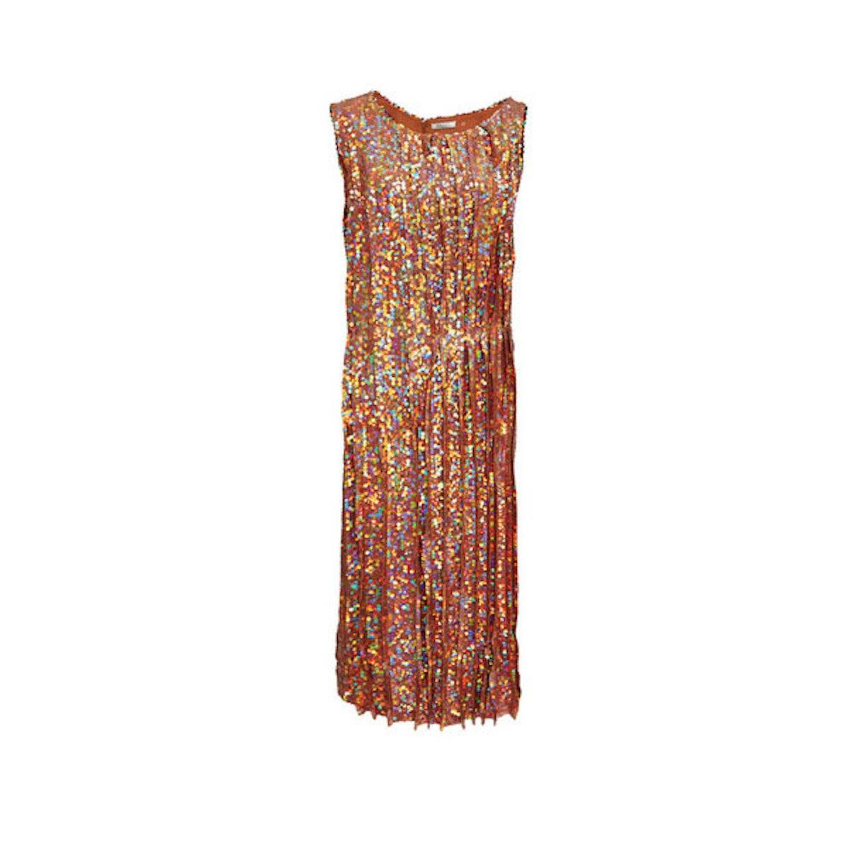 Nina Ricci Sleeveless Sequin dress