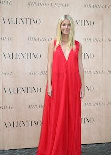 Gwyneth Paltrow in Valentino