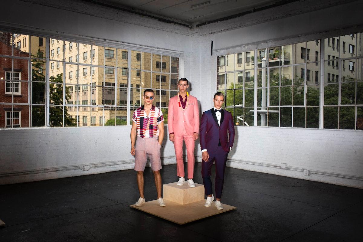 New York Men's Fashion Week Spring 2016 Day 1