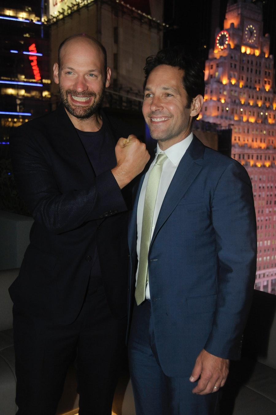 Corey Stoll and Paul Rudd