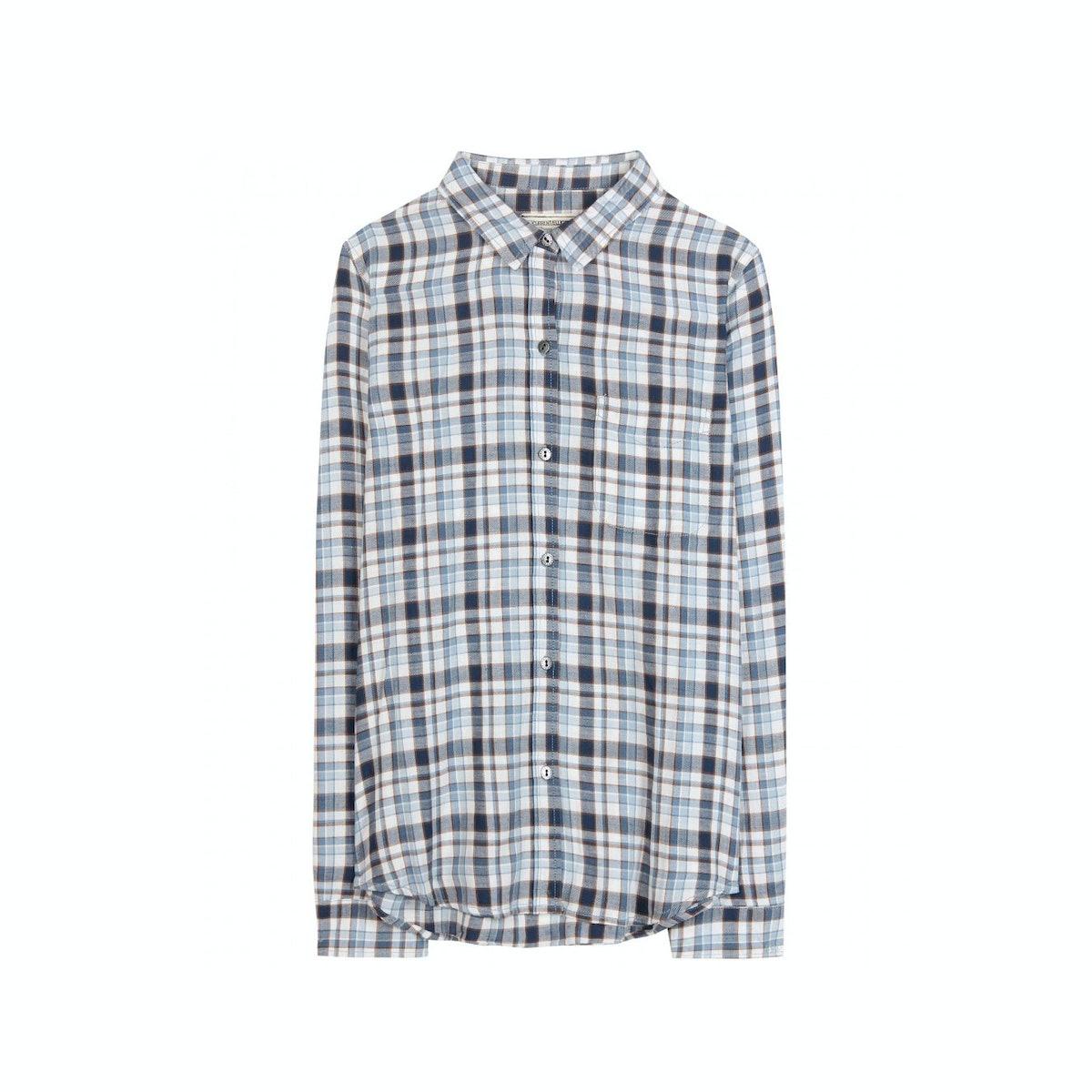 Current/Elliot plaid shirt