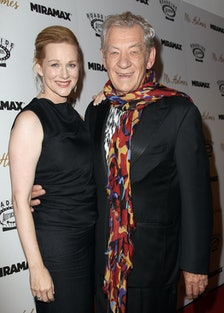 Laura Linney and Ian McKellen