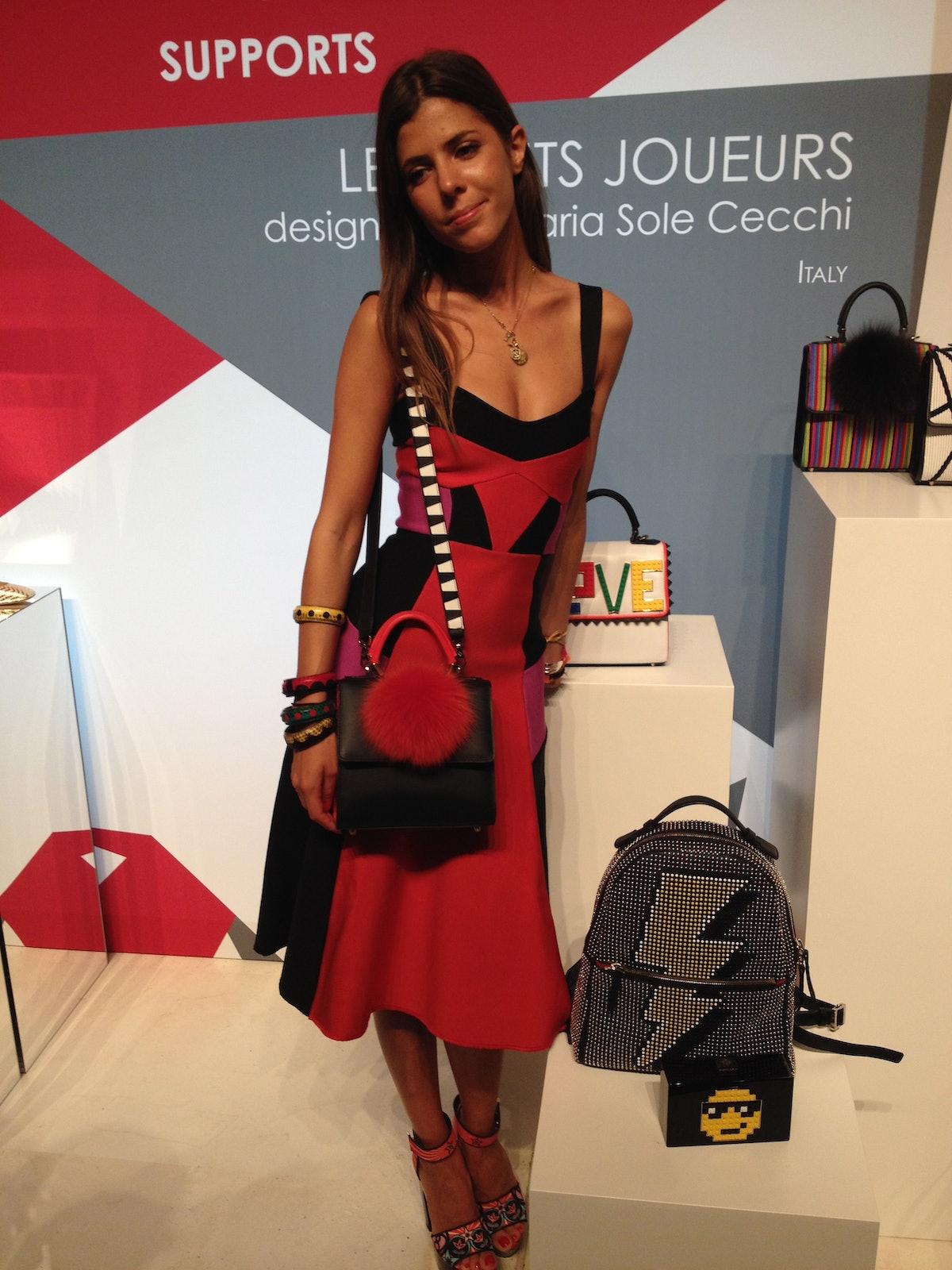 Maria Sole Cecchi of Les petits Joueurs
