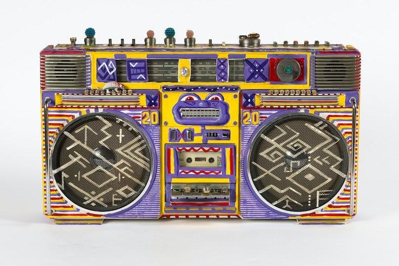 Kenny Scharf's Boom Box