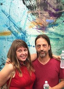 Bill Saylor and Elizabeth Balogh