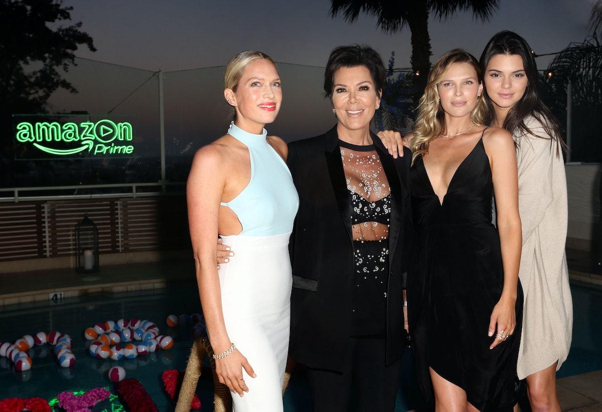 Erin Foster, Kris Jenner, Sara Foster, and Kendall Jenner