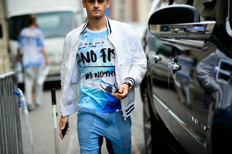 New York Fashion Week: Men's, Day 1