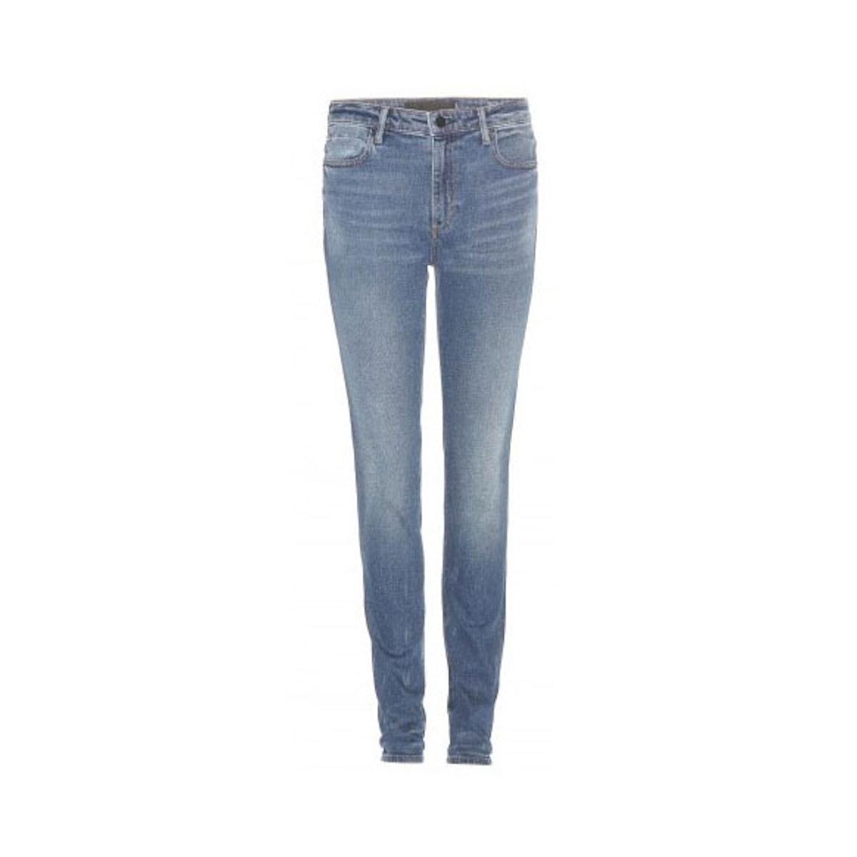 Alexander Wang 001 highrise skinny jeans